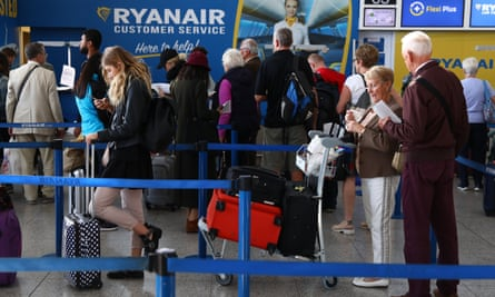 Ryanair customers could face further cancellations as the airline continues to struggle with staffing problems.