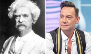 Mark Twain and Craig Revel Horwood