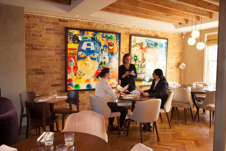 The Bank House wine bar and restaurant, Chislehurst, Kent.