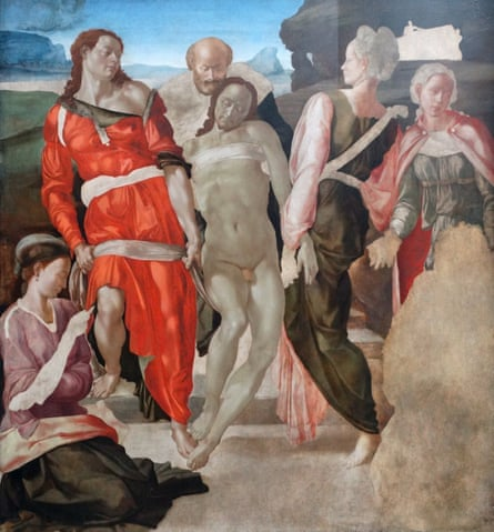 Entombment by Michelangelo; National Gallery, London