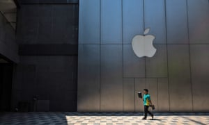 An Apple Store in Beijing, China, 9 May 2019. The company's reliance on China, both as a market for its products and as a critical part of its supply chain, has proved complicated in recent years.