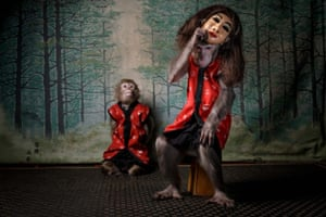 2020 GDT European wildlife photographer of the year overall winner: A Monkey's Mask by Jasper Doest