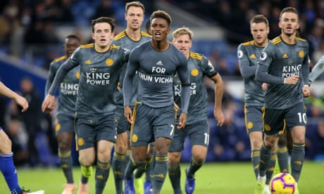 Demarai Gray strike gives unified Leicester emotional win over Cardiff