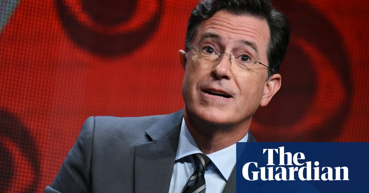 Anticipation builds as Stephen Colbert ditches his persona