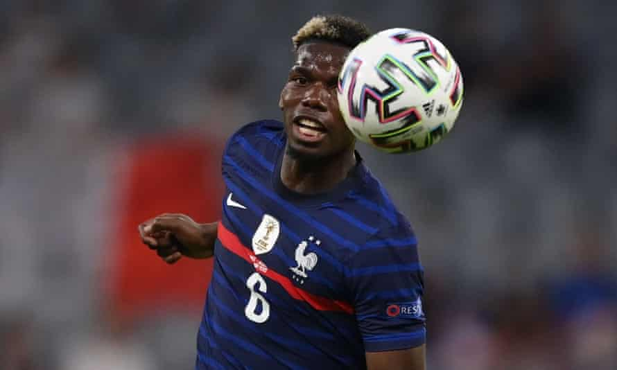 Paul Pogba was the man of the match for France against Germany.