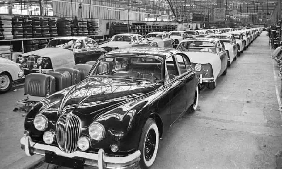 The Jaguar factory in Coventry, 1962