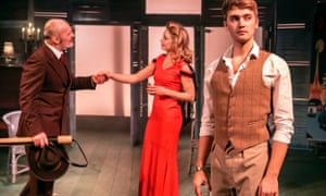 Jerome Pradon, Kelly Price and Felix Mosse in Aspects of Love