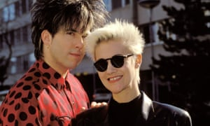 A song with universal appeal … Roxette, pictured in 1991.