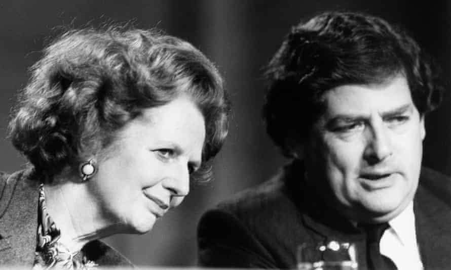 Thatcher with Nigel Lawson.