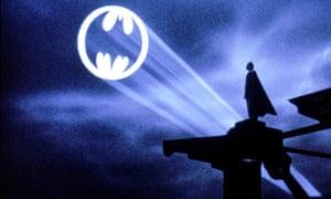 Michael Keaton in the 1989 film of Batman.