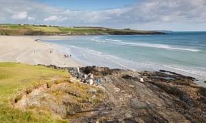 Inchydoney beach near Clonakilty, county Cork, Republic of Ireland.