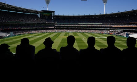 The MCG on Boxing Day