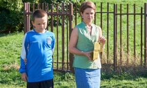 Sinead Keenan and Sonny Beyga in Little Boy Blue, ITV