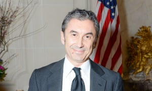 Marco Gobbetti at the US ambassador's residence in Paris