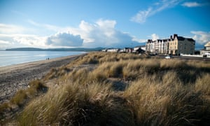 Pwllheli beach.