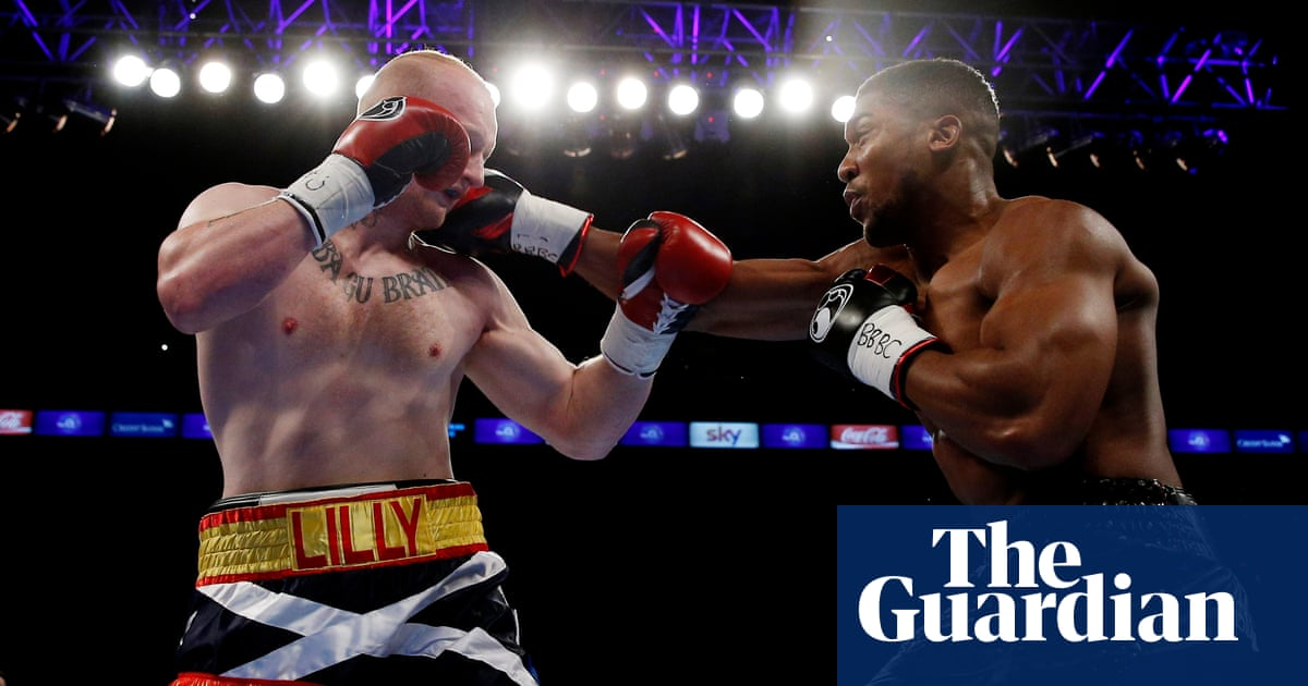 Anthony Joshua: 16 fights to glory – in pictures | Sport | The Guardian