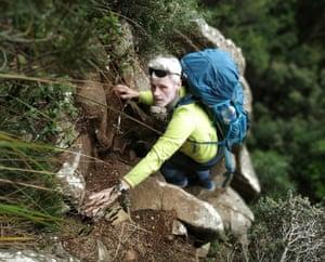 Murdo MacLeod on the Fiddlesticks route