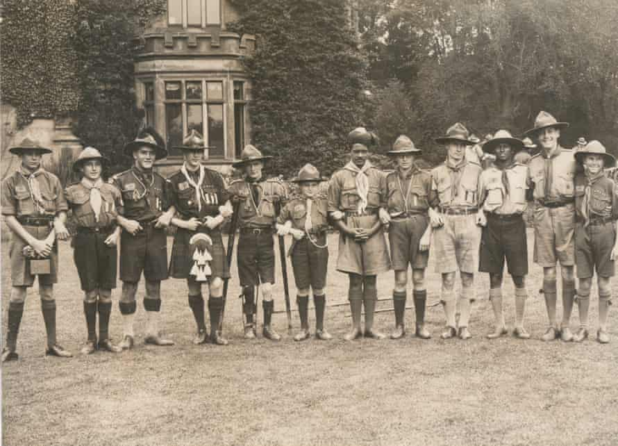 Scouts from the colonies 1929