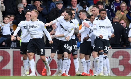 Championship: Derby, Middlesbrough and Bristol City's play-off battle – live!