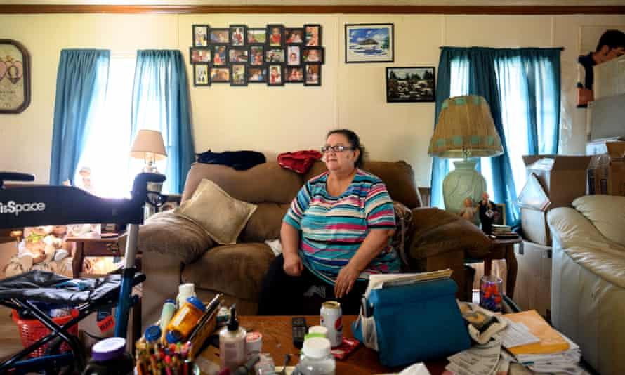 Diana Morgan Magda, 58, at home in Girard, Ohio