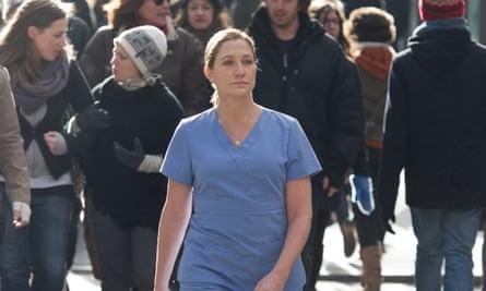 Edie Falco as Jackie Peyton in Nurse Jackie