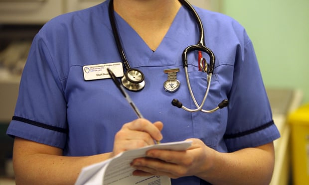 Difficulty of NHS Language Test 'worsens nurse crisis', Say Recruiters. Photograph: Christopher Furlong/Getty Images