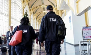 TSA employees, who ensure that air travel is safe, are working without pay.