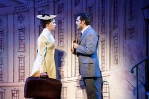 Anna O'Byrne as Eliza Doolittle and Mark Vincent as Freddie in Opera Australia's My Fair Lady