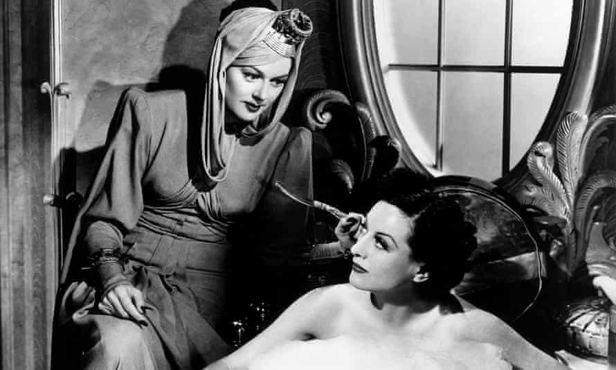 Brilliant wit … Rosalind Russell, left, and Joan Crawford in The Women.