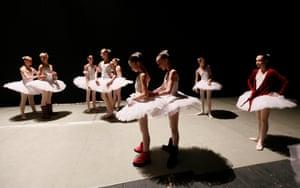 Krasnoyarsk, Russia Students of a choreographic college