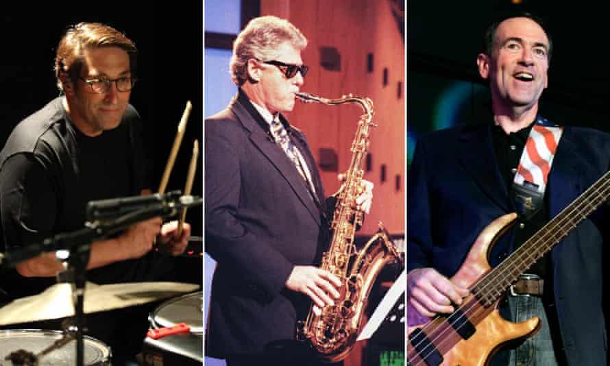 Corridors of power chords? The Jay Sekulow Band, Bill Clinton and Mike Huckabee.