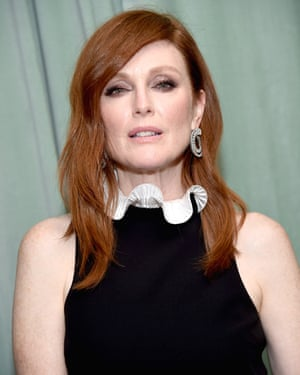 Julianne Moore, author of the Freckleface Strawberry series.