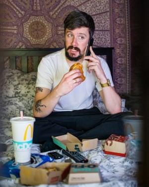 Adam Gabbatt on the phone