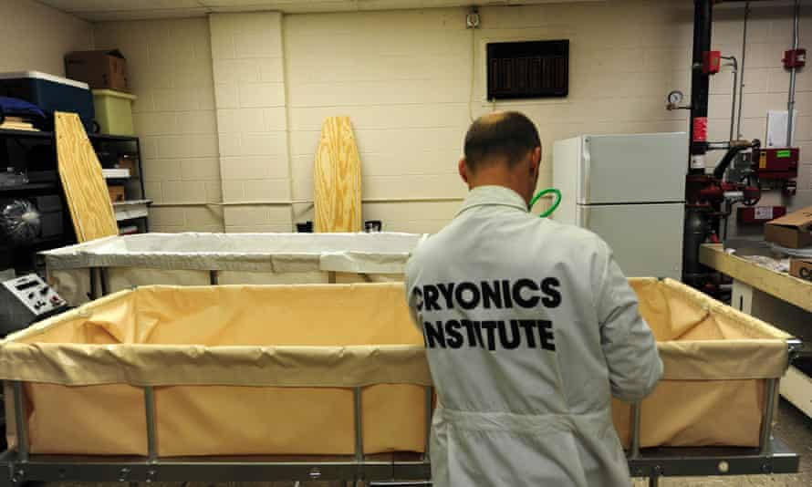 The Cryonics Institute in Clinton Township, Michigan