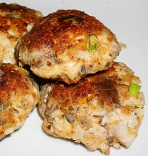 Susanne Anderegg's pic of her smoked mackerel fishcakes.