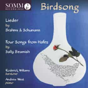 Roderick Williams and Andrew West: Birdsong album cover