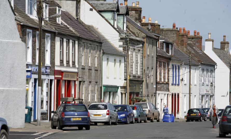 Wigtown, Galloway, home to Shaun Bythell's Book Shop.