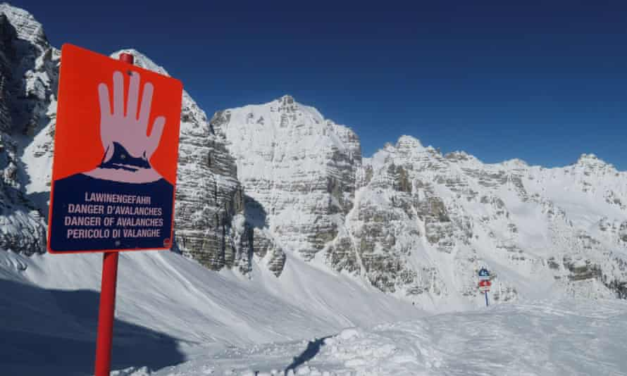 Six people were killed in Austria in avalanches on Sunday.