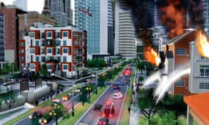 Forget to put a fire station in your SimCity virtual neighbourhood and one day a blaze will get out of control and a city block will be razed.