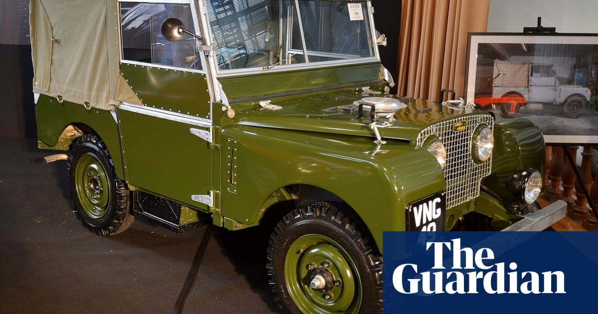 d136782e703 Celebrating the Land Rover Defender - in pictures