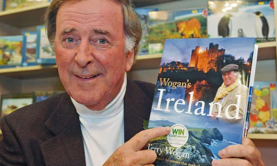 Terry Wogan at a signing event for this book Wogan's Ireland, in Burnham, November 2011.