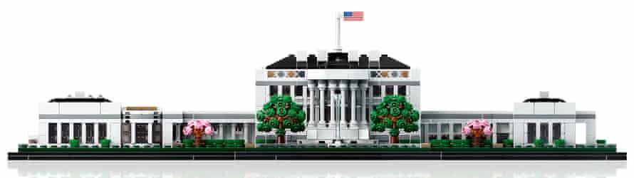 A Lego White House