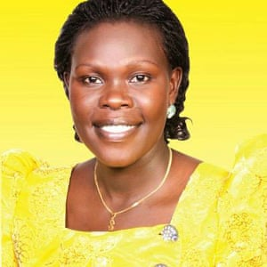 Evelyn Anite, Ugandan Minister of Finance for Infrastructure and Privatisation