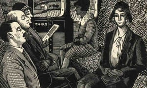 tirzah garwood the train journey woodcut