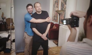 Ben Berman with the Amazing Johnathan in a still from his documentary.
