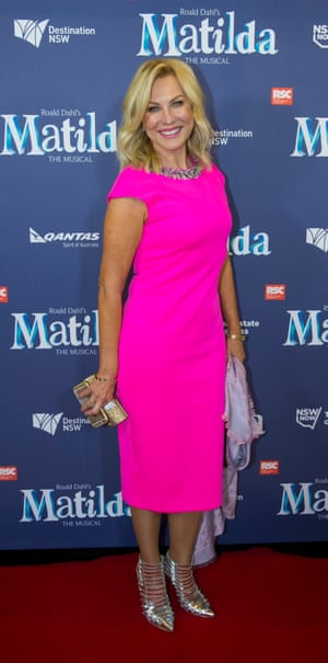 Presenter Kerri-Anne Kennerley at the Sydney premiere of Matilda the Musical. Sydney Australia 20 August 2015