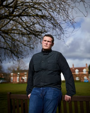 Alex Barrett from Weston, Staffordshire, whose father, Kenneth, died in January this year
