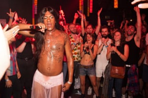 Mykki Blanco at the Yo Sissy festival in Berlin in July.