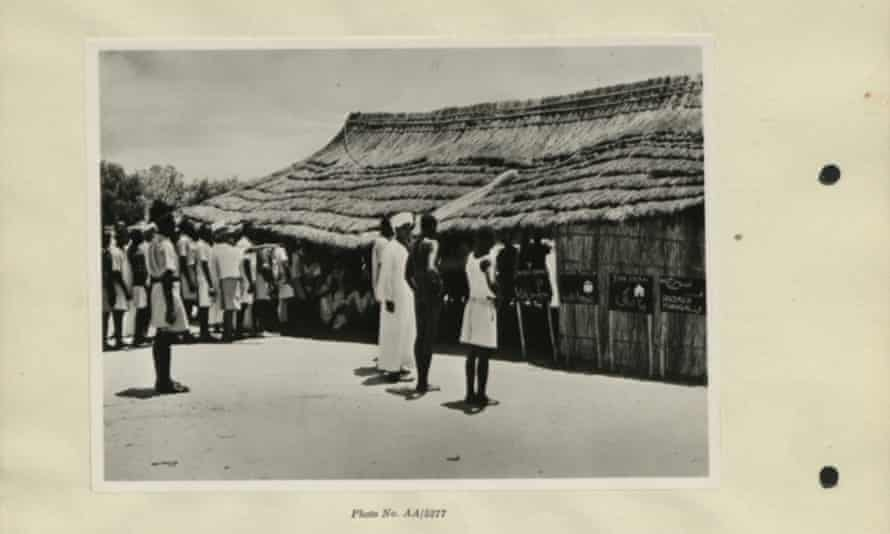 The House of Representatives Electoral Rules in Juba 1953, during the British rule of Sudan.