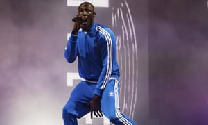 Stormzy ignites the Other Stage.